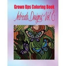Grown Ups Coloring Book Intricate Designs Vol 2