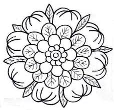 Flower Mandala Coloring Pages To Print