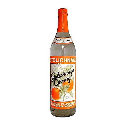 Stolichnaya Stoli Ohranj Orange Flavored Premium Vodka