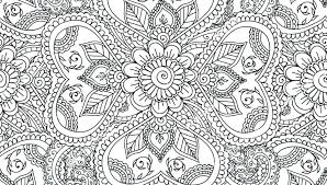 Detailed Mandala Coloring Pages Intricate Mandalas For With Designs General Printable Free