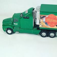 100 Toy Kenworth Trucks T600 Krispy Kreme Tractor Trailer Toy Metal Truck