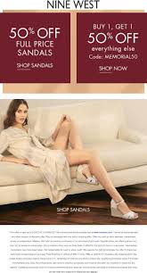 Nine West Coupons - 30% Off Everything And More At Nine West Nine West Coupon Code August Nine Sandalia Con Cua Negro Birthday Freebies Real Simple Shop On Souq Apps And Get Extra Discounts Foodpanda Coupons Offers 50 Off Promo Codes August 2019 Mexico Tienda Online Rosa Shoes Coupons Military Promo At Milsavercom Ninewestcom West Official Site For Women Handbags Outlet Staples Fniture 2018 Coupon