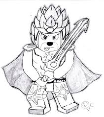 Lego Free Printable Coloring Pages Chima