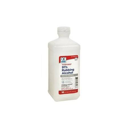 Quality Choice QC Alcohol Isopropyl 91 16oz