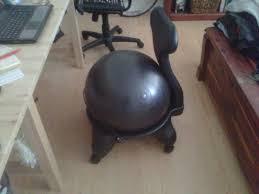 furniture gaiam balance ball chair for inspiring unique chair