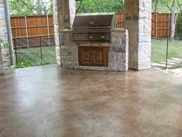 Rust Oleum Decorative Concrete Coating Slate by Take A Look At This Patio Concrete Stain Solcrete Com Home