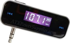 FM Transmitter for Android and IPhone 4 5 5C 5S Rechargeable
