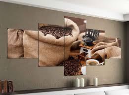 acrylglasbilder 5 teilig 200x100cm coffee kaffee cafe korn körner bohnen sack druck acrylbild acryl acrylglas bilder bild 14f752 wandtattoos und