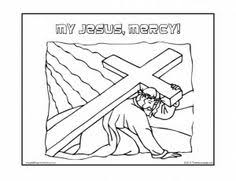My Jesus Mercy Coloring Page