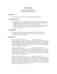 Restaurant Manager Resume Objective Sample Hotel O Full Size