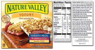 Calories In Granola Bars Nature Valley Images