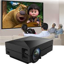 GM60 Portable Mini Home Theater 800x480 LED LCD Projector 1080P HD