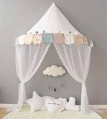 betthimmel babybett baldachin kinderzimmer moskitonetz bett baby zelt spielen zimmerdekoration für babys mädchen jungen mückenschutz nte005