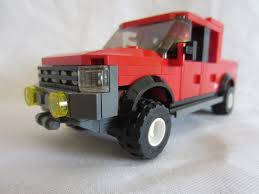 Crew Cab Truck | 4-door 6/7-wide Truck, Seats Four Minifigs ...