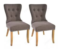 Rovicon Adele Grey Fabric Dining Chair In Pair FDUK BEST PRICE GUARANTEE WE  WILL BEAT OUR COMPETITORS PRICE! Give Our Sales Team A Call On 0116 235 77  ...