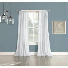Sheer Cotton Voile Curtains by Lichtenberg Sheer No 918 Millennial Henderson White Cotton Gauze
