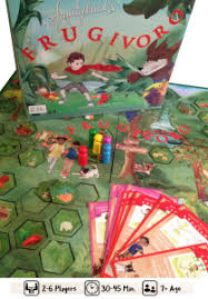 Frugivoro A Board Game About Health Food
