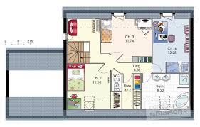 plan maison 4 chambres etage maison moderne de quatre chambres dé du plan de maison moderne