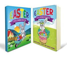 Easter Coloring Activity Book Bundle Includes An And Bunny Pages With
