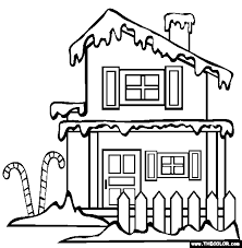 Santas Workshop Christmas Coloring Pages