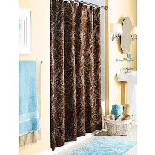 Teal And Brown Curtains Walmart by Better Homes And Gardens Pembroke Embroidered Shower Curtain