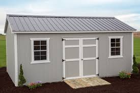 12x20 Storage Shed Material List by Wood Vs Vinyl Sheds A Comparison Of Shed Sidings Byler Barns