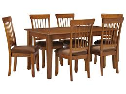 Ashley Furniture Berringer7 Piece 36x60 Table Chair Set