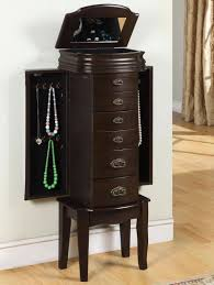 Powell Espresso Standing Jewelry Box. Shop Additional Jewelry ... Powell Jewelry Armoire Replacement Parts Style Guru Fashion 10 Best Armoires Images On Pinterest Armoire 20 Mens Butler Valet Fniture For Bedroom Mirrored Box Organizer Tall Stand Up Cabinet Vintage Glitz Amazoncom Porter Valley Kitchen Ding Design Steveb Interior How To Install Beyond Stores Kids Armoires Bombay