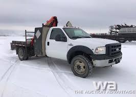 100 F550 Truck 2006 FORD PICKER TRUCK