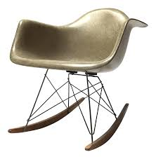 Vintage Eames 1st Generation Rar Rocking Chair Black 2014 Herman Miller Eames Rar Rocking Arm Chairs In Very Good Cdition White Rocking Chair Charles Ray Eames And For Vintage Brown By C Frank Landau For Sale Rope Edge Chair 1950s Midcentury Modern Rar A Pair 1948 Retro Obsessions