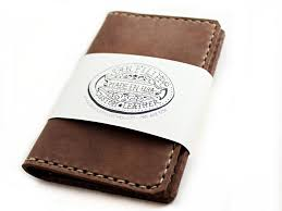 men u0027s leather journal u0026 card wallet gift set american made free