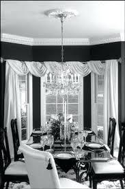 Black Living Room Curtains Dining Curtain Idea Sheer Fabric And Burlap Runner