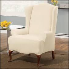 wing chair recliner slipcovers small wing chair slipcover chairs home decorating ideas hash