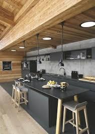 cuisine industrielle cuisine style industriel quels matériaux et éléments privilégier