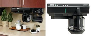 Under Counter Coffee Makers Cabinet Maker Black And Space Review Bro