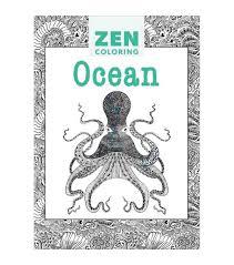Adult Coloring Book Guild Of Master Craftsman Zen Ocean