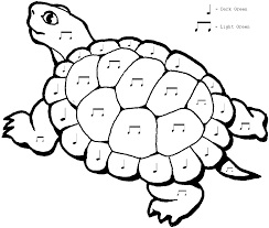 Animal Turtle Coloring Pages Free Printable For Kids Are You Like Simple Sheet Above I Hope Yo