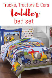 100 Toddler Truck Bedding Dream Factory Tucks Tractors And Cars Toddler Bed Set