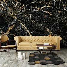 vlies fototapete marmor gold schwarz modern steinoptik