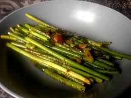 cuisiner des haricots verts cuisson des haricots verts au wok fashion and food