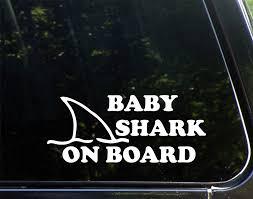 Amazon.com: Diamond Graphics Baby Shark On Board (8-3/4
