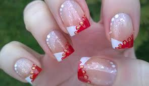 Christmas French Nail Designs - How You Can Do It At Home ... 24 Glitter Nail Art Ideas Tutorials For Designs Simple Nail Art Designs Videos How You Can Do It At Home Design Images Best Nails 2018 Easy To Do At Home Webbkyrkancom For French Arts Cool Mickey Mouse Design In Steps Youtube Without Tools 5 With Pink Polish 25 Ideas On Pinterest Manicure Simple Pictures Diy Nails Cute