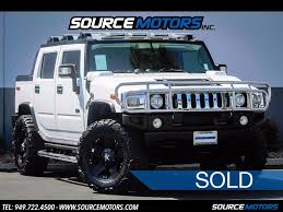 100 H2 Truck 2006 Hummer SUT For Sale In Orange County CA Stock 10488