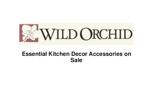 Essential Kitchen Decor Accessories On Sale 1 638cb1503569967