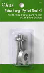 Dritz Curtain Grommet Kit by Extra Large Eyelet Tools 14019 Dritz Quilting Sewing U0026 Crafting