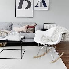 chaise a bascule eames chaise à bascule design adulte tu bebebox rocking chair pratique