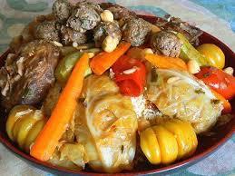 cuisine juive tunisienne recette du couscous aux boulettes juif tunisien harissa com