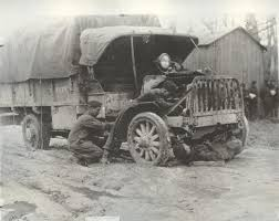 100 Packard Trucks Repairing A Truck 82nd Div In The Mud Showing How The Men