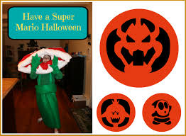 Pumpkin Carving Patterns 2014 by Have A Super Mario Halloween With These Pumpkin Stencils Mommy U0027s