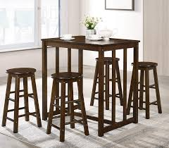 Amazon.com - Rhomtree 5 Piece Dining Set Table And 4 Chairs ...